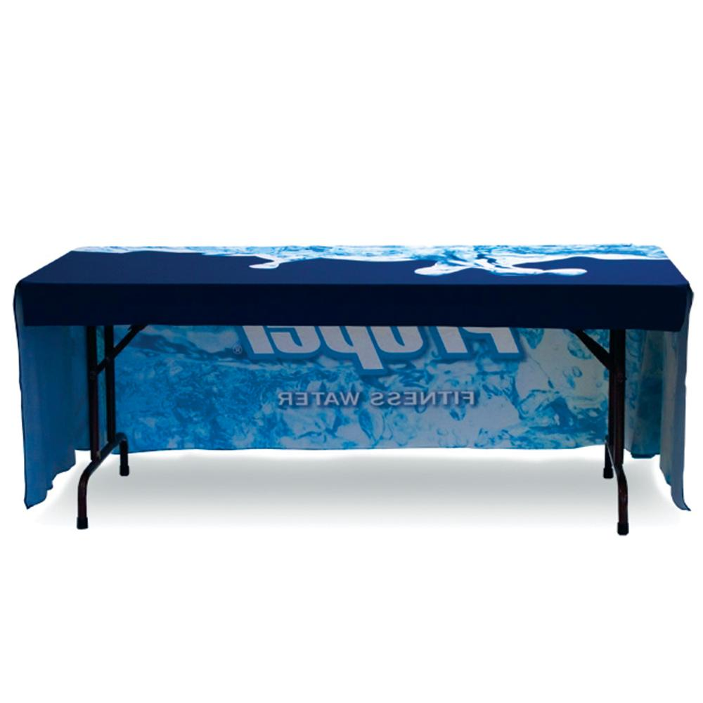 Table Throw - 8ft 3 sided - Back