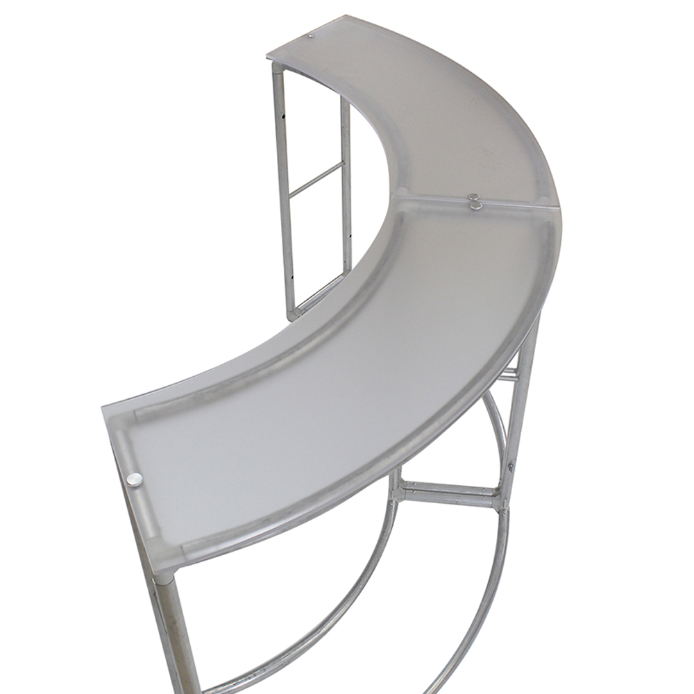 EZ Fabric Counter - Curved Double Frame Top